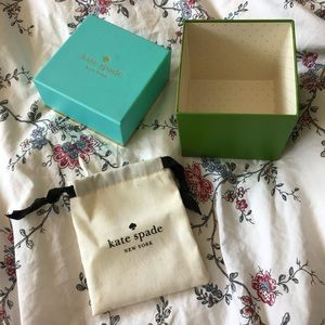 Kate Spade Watch Box and Jewelry Bag